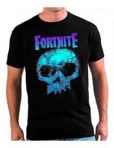 Camiseta Fortnite Skull