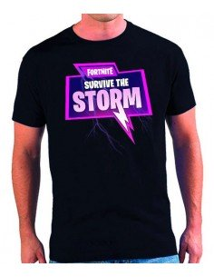 Camiseta Fortnite Survive The Storm