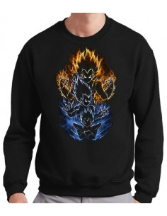Sudadera Vegeta Evolution Saiyan