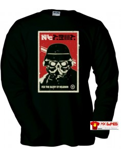 Camiseta Killzone Helghast (cartel) manga larga