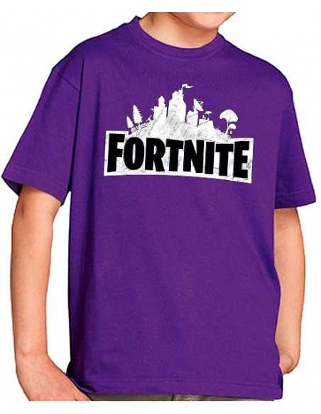 Camiseta Fortnite emblema custom