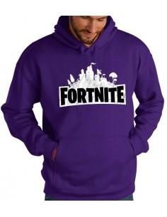 Sudadera Fortnite emblema custom