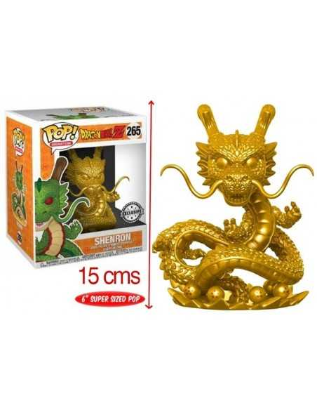 Funko Pop Shenron exclusivo dorado 15cms