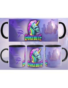 Taza Fortnite Unicornio