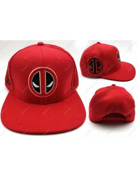 Gorra Deadpool Doble Logo