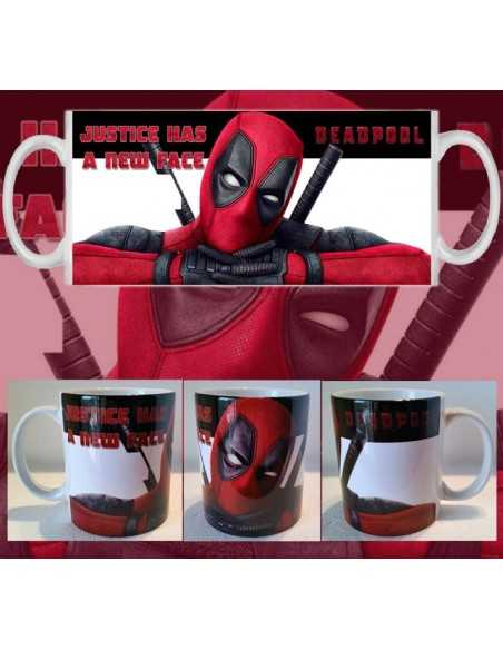Taza Deadpool Justice