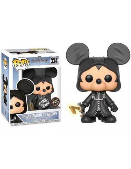Funko Pop Kingdom Hearts Mickey chase glow