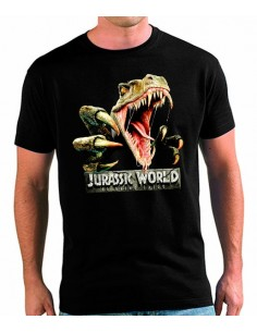 Camiseta Jurassic World 2 Velociraptor Fauces