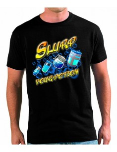 Camiseta Fortnite Slurp 4 Pociones