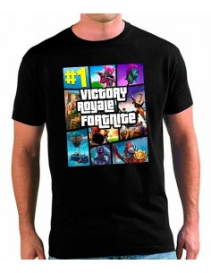 Camiseta Fortnite GTA unisex