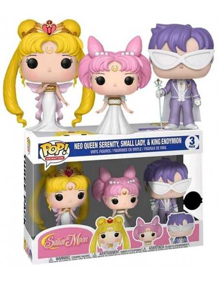 Funko Pop Neo Queen Serenity Small Dady y King Enymion