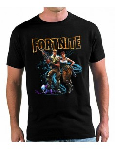 Camiseta Fortnite Pareja con criatura