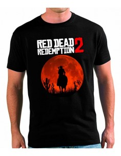Camiseta Red Dead Redemption 2 Luna Llena