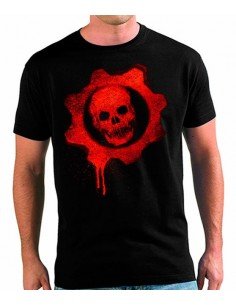 Camiseta Gears Of War Graffitti