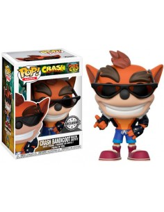 Funko Pop Crash Bandicoot Biker Outfit