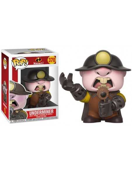Funko Pop Underminer Los Increibles 2