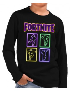 Camiseta Fortnite manga larga Bailes