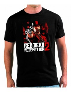 Camiseta Red Dead Redemption 2 Pistolero