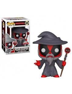 Funko Pop Deadpool Mago parodia Gandalf