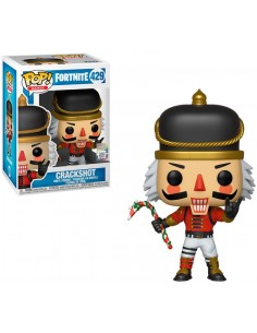 Funko Pop Cascanueces o Crackshot Fortnite