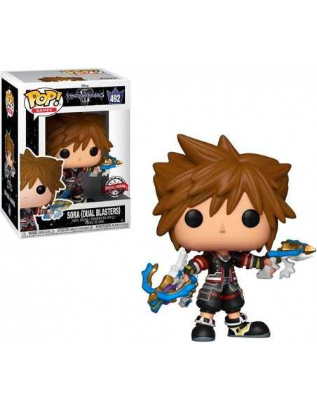 Funko Pop Sora Dual Blasters Kingdom Hearts 3