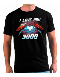 Camiseta Te Quiero 3000 The Avengers Endgame