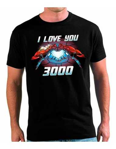 991bcc8dbc Camiseta TE QUIERO 3000 Iron-Man▷ The Avengers Endgame