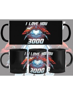 Taza Te Quiero 3000 Ironman The Avengers Endgame