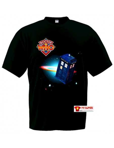 Camiseta Doctor Who -Space Tardis-