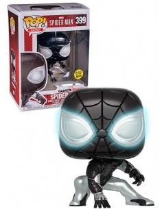 Funko Pop Spider-man Exclusive Gamestop Glows
