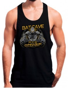 Camiseta Tirantes Gym Bat Cave Batman