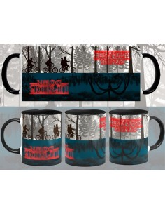 Taza Stranger Things Upside Down