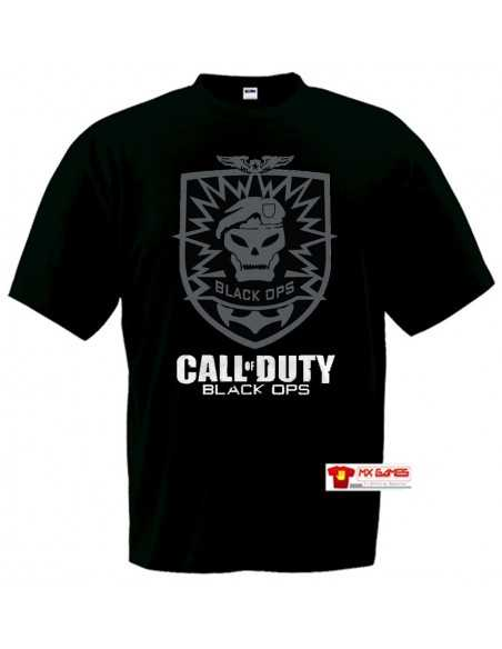 "Camiseta Call of Duty Black Ops ""skull"""
