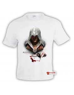 Camiseta Assassins Creed (Ezio pluma)