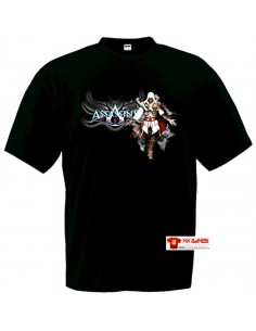 Camiseta Assassins Creed ( Ezio nube) manga larga
