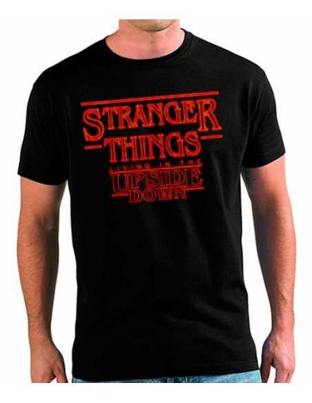 Camiseta Stranger Things Upside Down