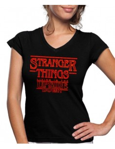 Camiseta Stranger Things 3 de mujer Upside Down