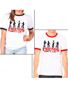 Camiseta Stranger Things Los Amigos No Mienten