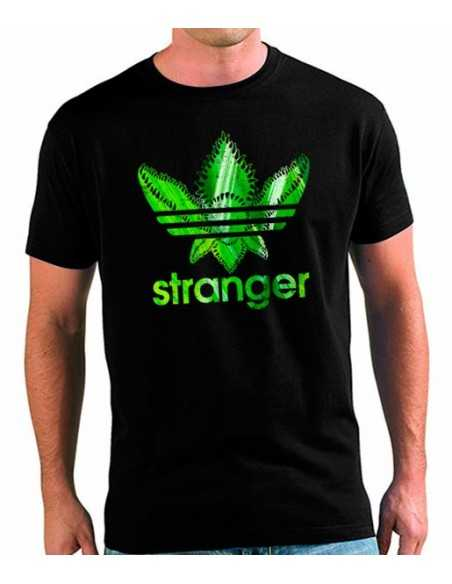 Camiseta Stranger Things estilo Adidas Forest