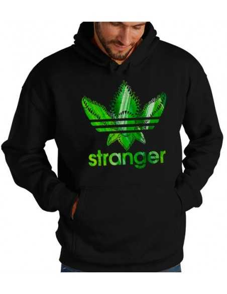 Sudadera Stranger Things estilo Adidas Forest