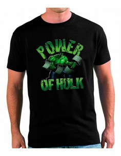 Camiseta Gimnasio Power Of Hulk