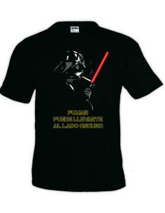 Camiseta Star Wars Darth Vader (Fumar)
