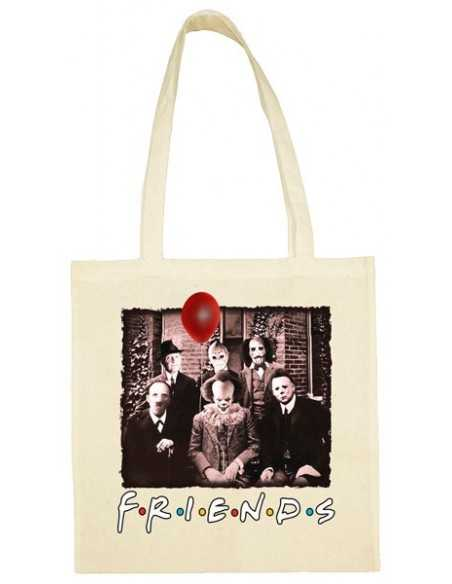 Tote Bag Friends It Pennywise terror Halloween