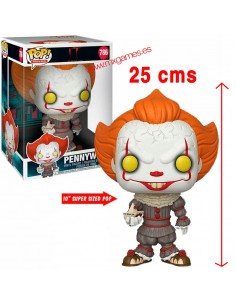 Funko Pop IT Payaso Pennywise con barco 25 cms