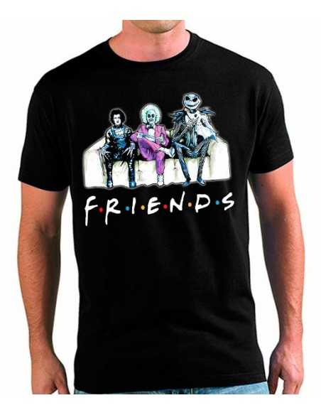Camiseta Friends Jack Skellington Halloween