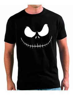 Camiseta Jack Skellington Face