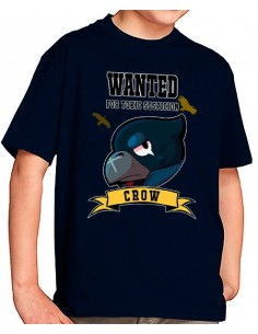 Camiseta Brawl Stars Crow