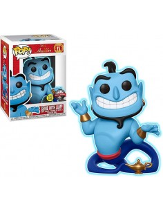 Funko Pop Aladdin Genio con lampara Exclusivo
