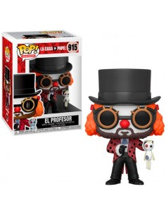 Funko Pop El Professor Clown La Casa de Papel