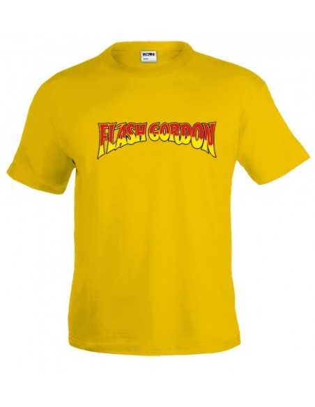 Camiseta Flash Gordon (Retro) Amarilla